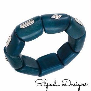 Silpada Palms Stretch Bracelet